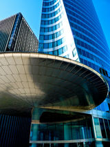 Title: La Defense- abstract artPanasonic Lumix DMC-FZ28